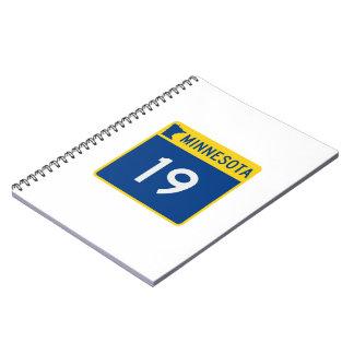 Minnesota Trunk Highway 19 Notebook