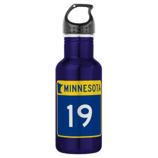 Minnesota Trunk Highway 19 Stainless Steel Water Bottle