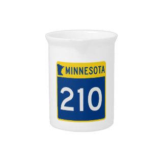Minnesota Trunk Highway 210 Drink Pitchers