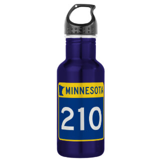 Minnesota Trunk Highway 210 Water Bottle