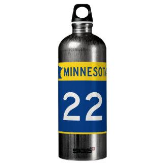 Minnesota Trunk Highway 22 Aluminum Water Bottle