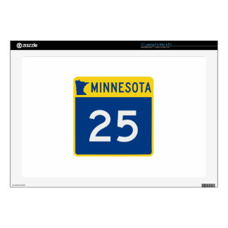 Minnesota Trunk Highway 25 Decals For Laptops