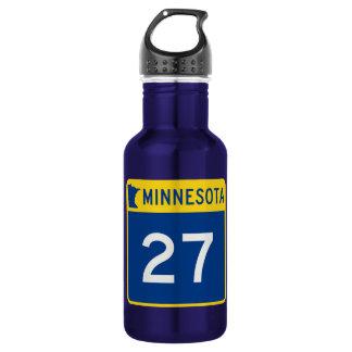 Minnesota Trunk Highway 27 Stainless Steel Water Bottle