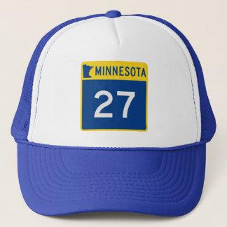 Minnesota Trunk Highway 27 Trucker Hat