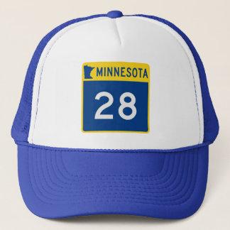 Minnesota Trunk Highway 28 Trucker Hat
