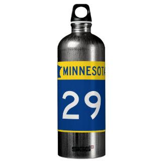 Minnesota Trunk Highway 29 Aluminum Water Bottle