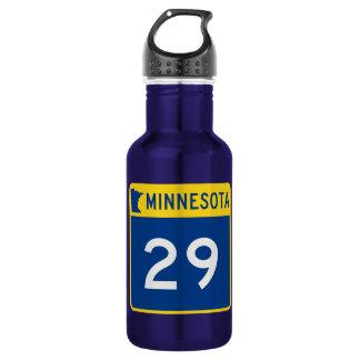 Minnesota Trunk Highway 29 Stainless Steel Water Bottle