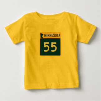 Minnesota Trunk Highway 55 Baby T-Shirt