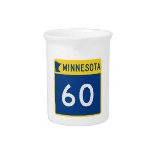 Minnesota Trunk Highway 60 Drink Pitchers