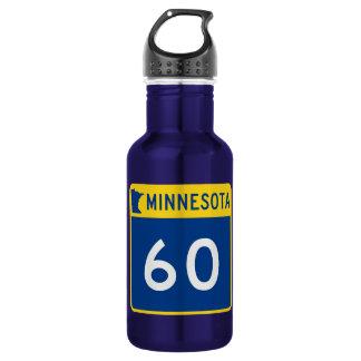 Minnesota Trunk Highway 60 Water Bottle