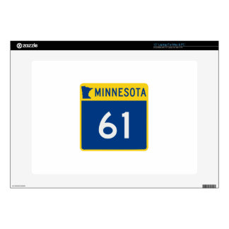 Minnesota Trunk Highway 61 Decal For Laptop