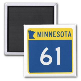 Minnesota Trunk Highway 61 Magnet
