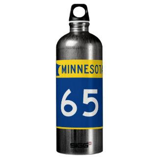 Minnesota Trunk Highway 65 Aluminum Water Bottle