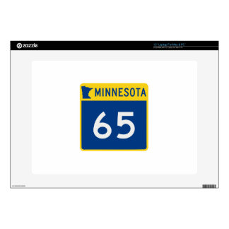 "Minnesota Trunk Highway 65 Decal For 15"" Laptop"