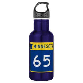 Minnesota Trunk Highway 65 Water Bottle