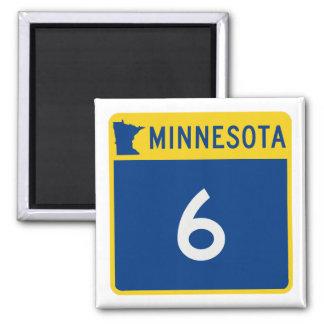 Minnesota Trunk Highway 6 Magnet