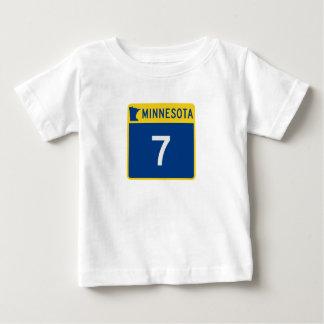 Minnesota Trunk Highway 7 Baby T-Shirt