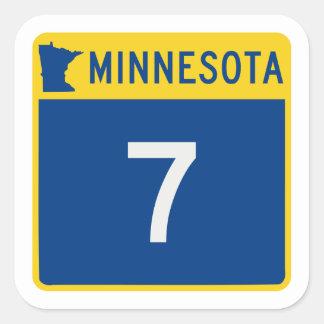 Minnesota Trunk Highway 7 Square Sticker