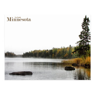 Minnesota Up North Postcard