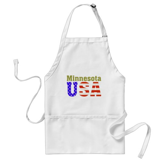 Minnesota USA! Adult Apron