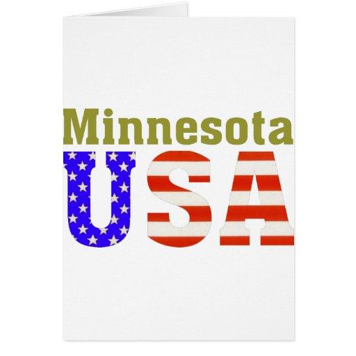 Minnesota USA! Card