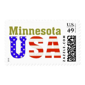 Minnesota USA! Postage