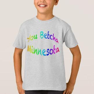 Minnesota usted Betcha kt Playera