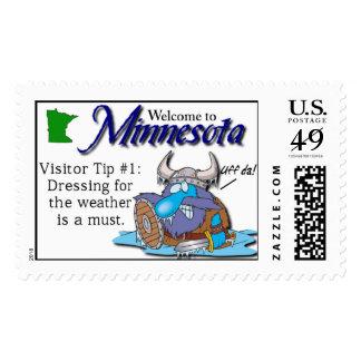 Minnesota Visitor Tip Postage #1