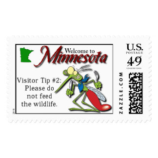 Minnesota Visitor Tip Postage #2