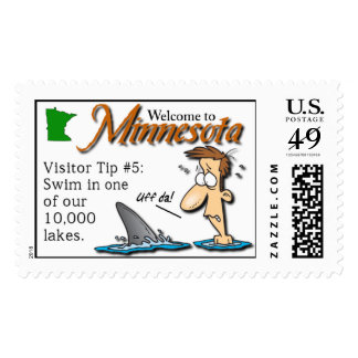 Minnesota Visitor Tip Postage #5