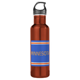 Minnesota Water Bottle 24oz Water Bottle