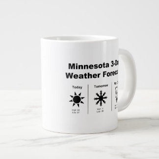 Minnesota Weather Forecast Large Coffee Mug