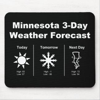Minnesota Weather Forecast Mouse Pad