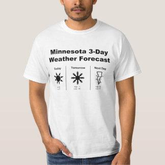 Minnesota Weather Forecast T-Shirt