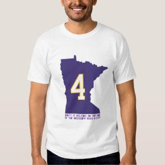 Minnesota Welcomes Favre T-Shirt