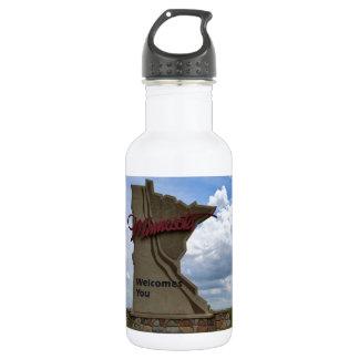 Minnesota Welcomes You 18oz Water Bottle