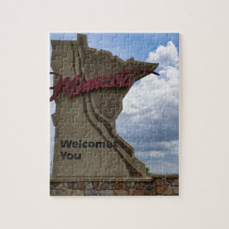Minnesota Welcomes You Jigsaw Puzzle
