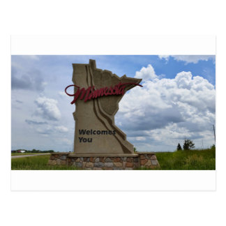 Minnesota Welcomes You Postcard
