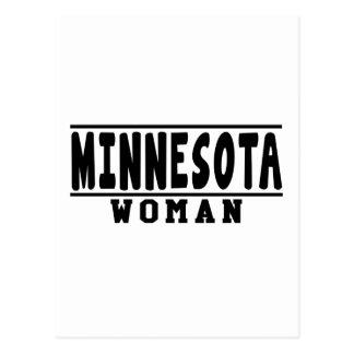 Minnesota woman designs postcard