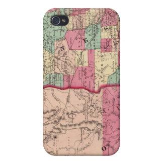Minnesota y Dakota iPhone 4/4S Carcasa