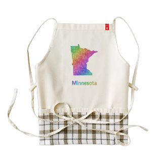 Minnesota Zazzle HEART Apron