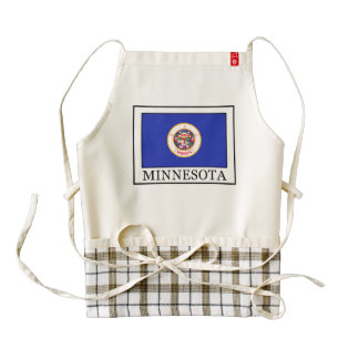 Minnesota Zazzle HEART Apron