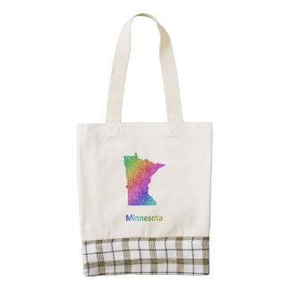 Minnesota Zazzle HEART Tote Bag