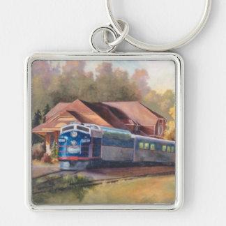 Minnesota Zephyr Train Keychain