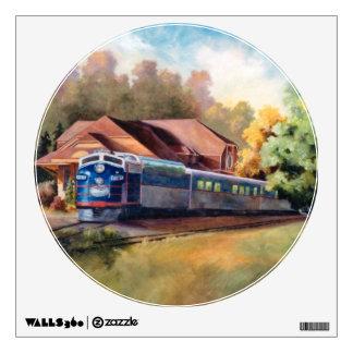 Minnesota Zephyr Train Wall Stickers