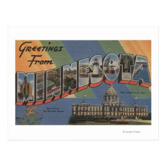 MinnesotaLarge Letter ScenesMinnesota Postcard