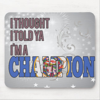 Minnesotan and a Champion Mouse Pad