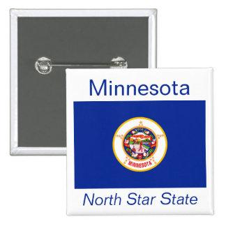Minnesotan Flag Button