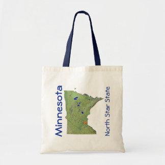 Minnesotan Map Bag