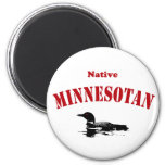 Minnesotan nativo imán para frigorífico
